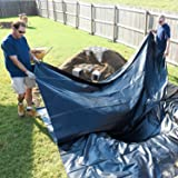 uyoyous HDPE Rubber Pond Liner,16.4 x 19.7 feet