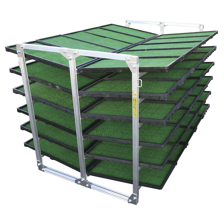ALINCO(アルインコ) 斜め収納専用  苗箱収納棚60枚用 NC60K B00N3MMH8A