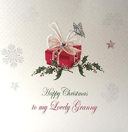 Buon Natale In Inglese.Carta Di Cotone Bianco Carte X125 Natale Inglese Scritta Buon