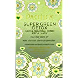 Pacifica Super Green Detox Kale and Charcoal Facial Mask 0.67oz , pack of 1