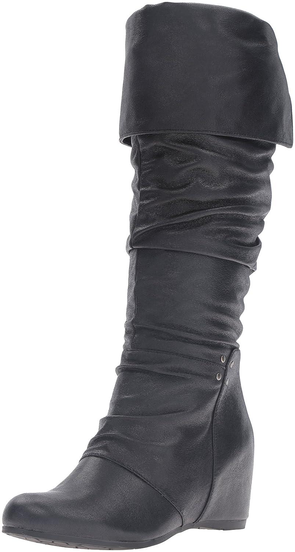 BareTraps Women's Bt Valry Slouch Boot B01DWOAZRI 6 B(M) US|Black