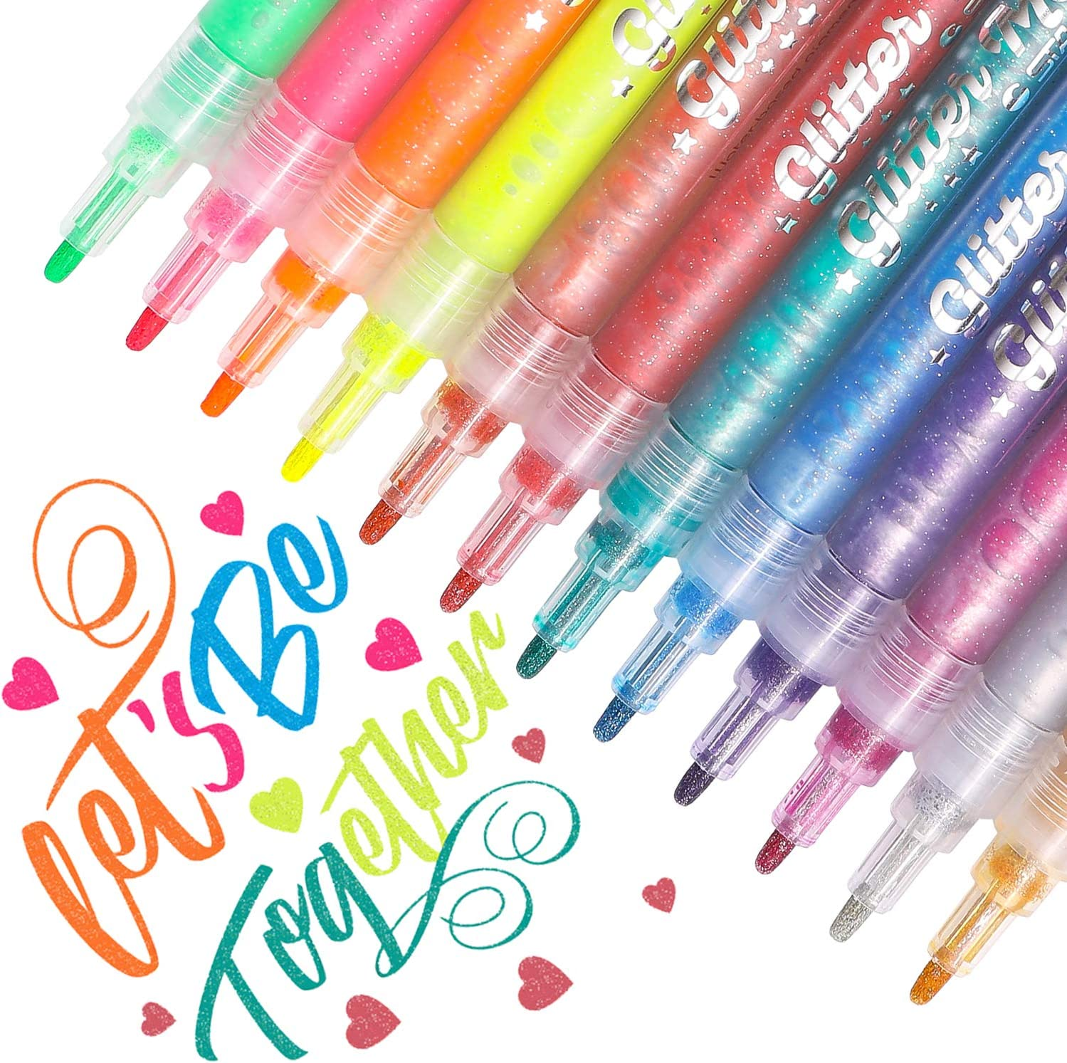 Dyvicl Glitter Markers Paint Pens
