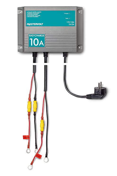Mastervolt EasyCharge 10A a 12V 5A a 24V- Cargador de baterías