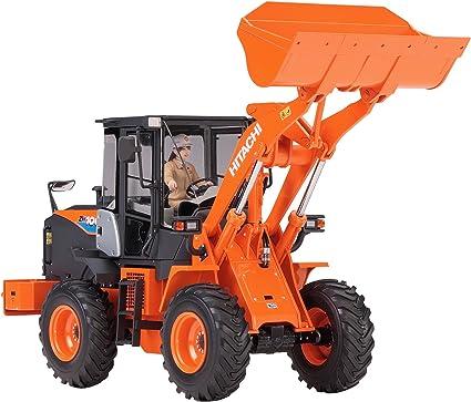 Hasegawa WM04 Hitachi Construction Machinery Wheel Loader ZW100-6 1//35