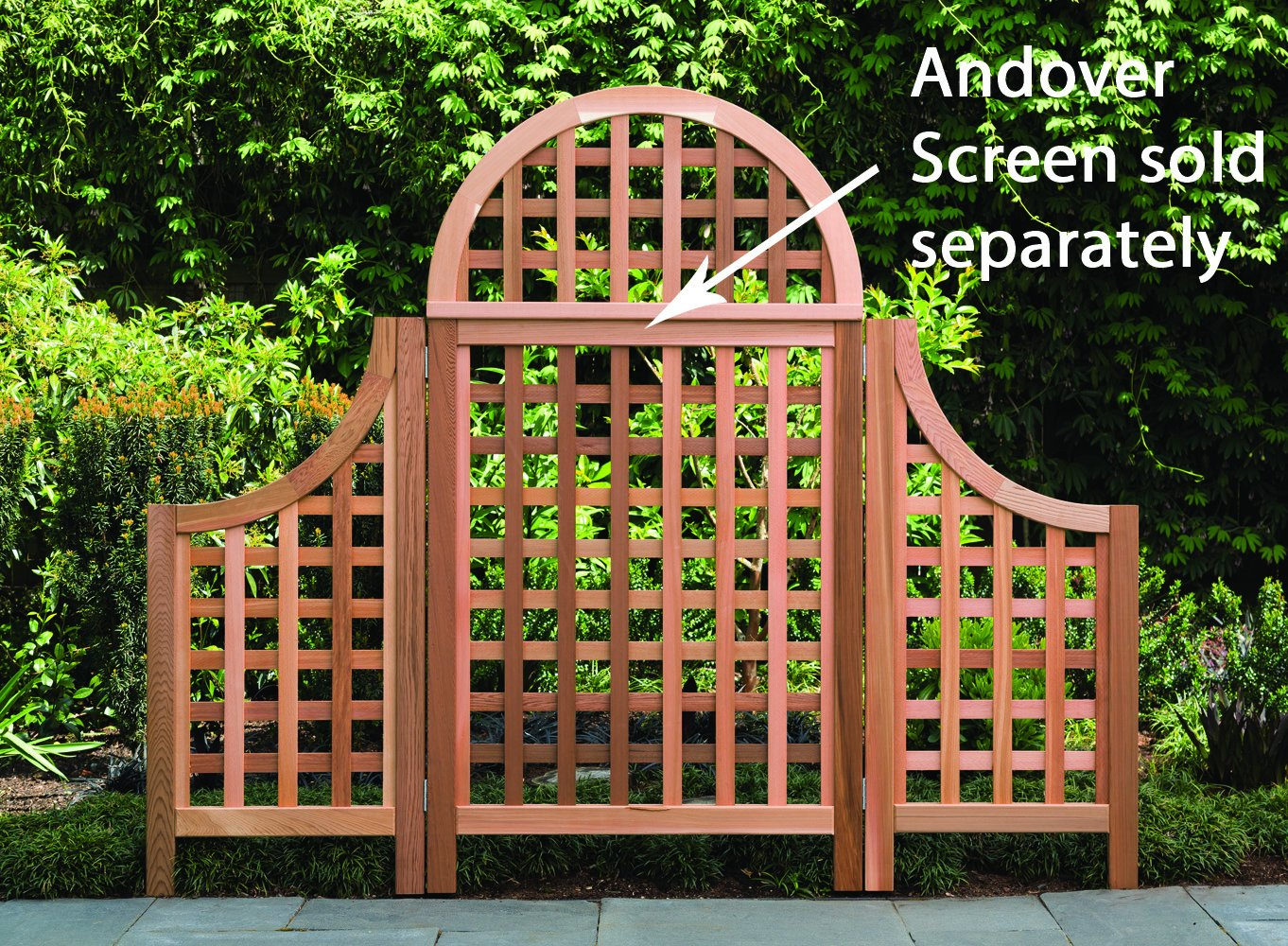 Amazon.com : Arboria Andover Landscape Screens Trellis Wings, Made ...