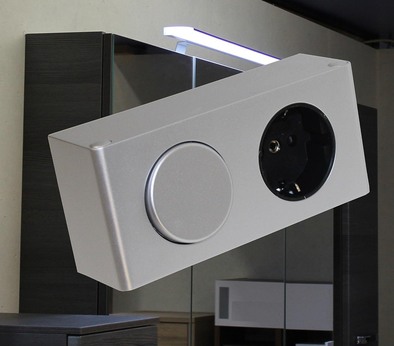 81mHiLXxn1L._SL1500_ Erstaunlich Spiegelschrank Mit Licht Und Steckdose Dekorationen