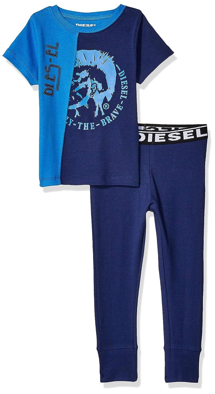 Diesel Sleepwear Boys Short Sleeve T-Shirt and Jogger Sleepwear Set Pants Set