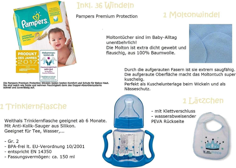 45-teilig dubistda/© Windeldreirad Cruiser blau Geschenk zur Geburt 40cm Windeltorte Dreirad Junge