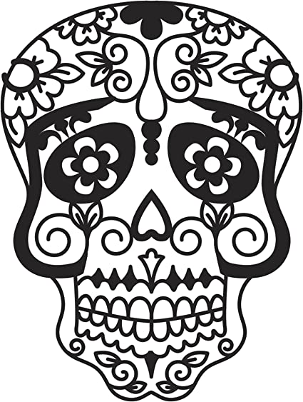SUGAR SKULL Day of the Dead DARICE Die Cut /& Embossing Stencil **FREE POST**