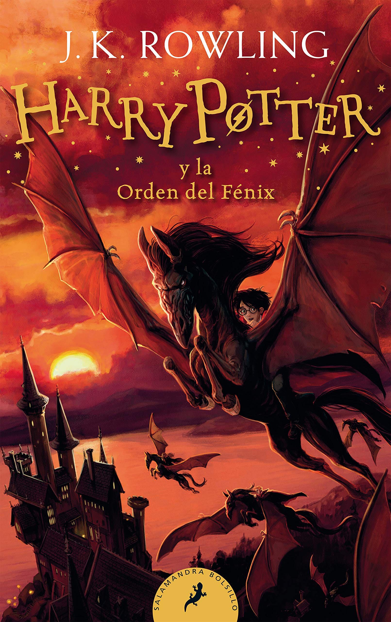 Harry Potter Y La Orden Del Fenix Harry Potter And The Order Of The Phoenix Spanish Edition Rowling J K 9781644732113 Amazon Com Books