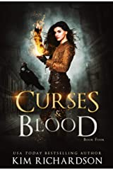 Curses & Blood: A Witch Urban Fantasy (The Dark Files Book 4) Kindle Edition