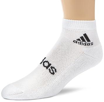 Adidas - Calcetines, tamaño 3942, color blanco/negro: Amazon.es: Deportes y aire libre