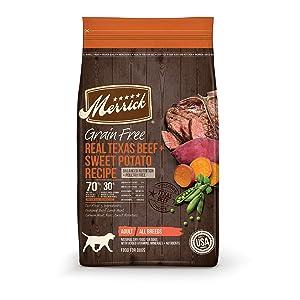 Merrick Grain-Free Dry Dog Food Recipe