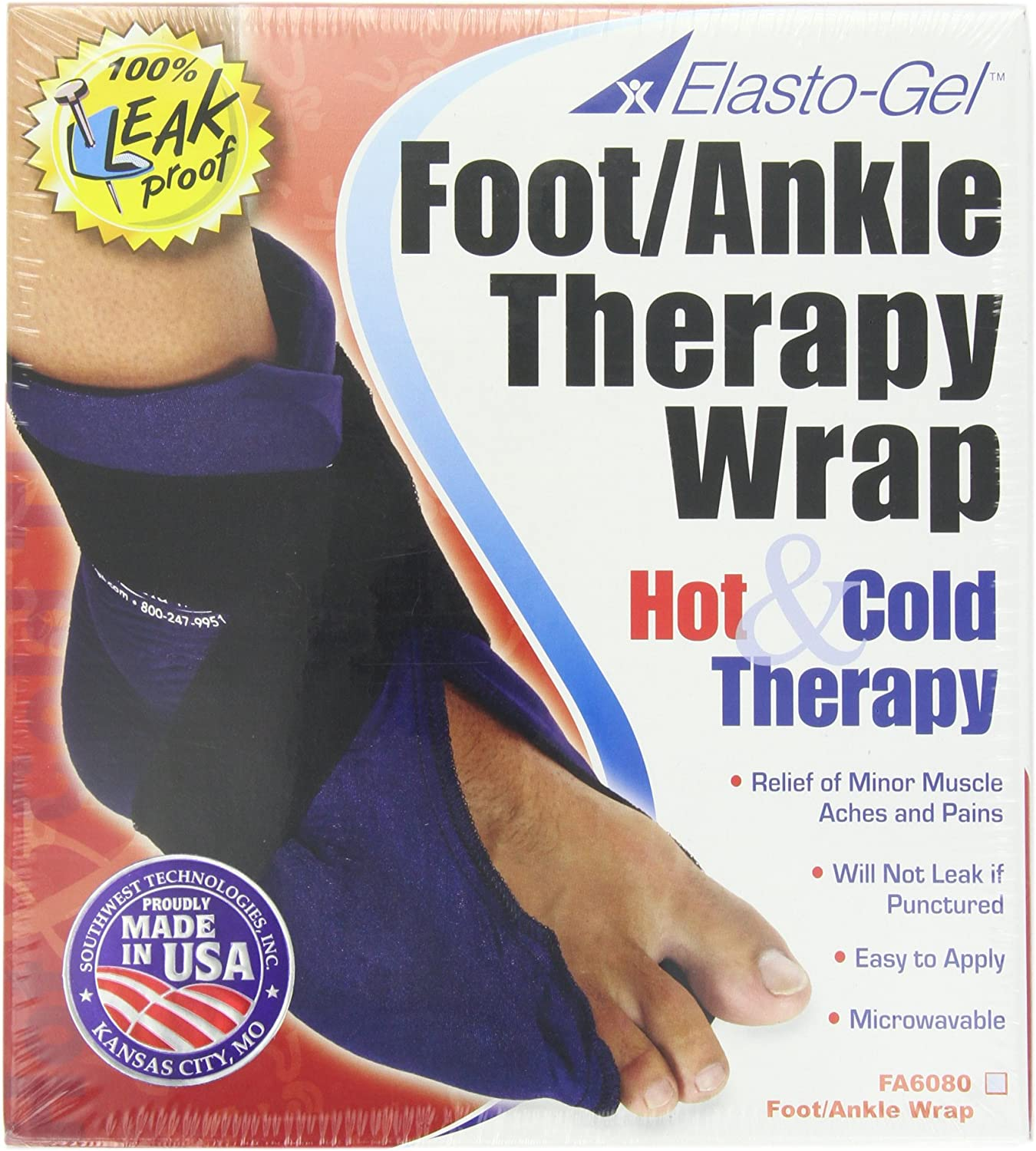 LeMieux Arctic Ice Freeze Cold Therapy Wrap Boot for Healing Swelling