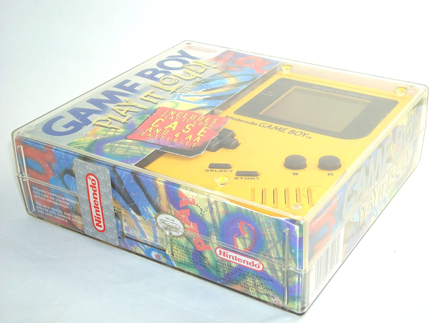 Play It Loud Nintendo Game Boy Yellow