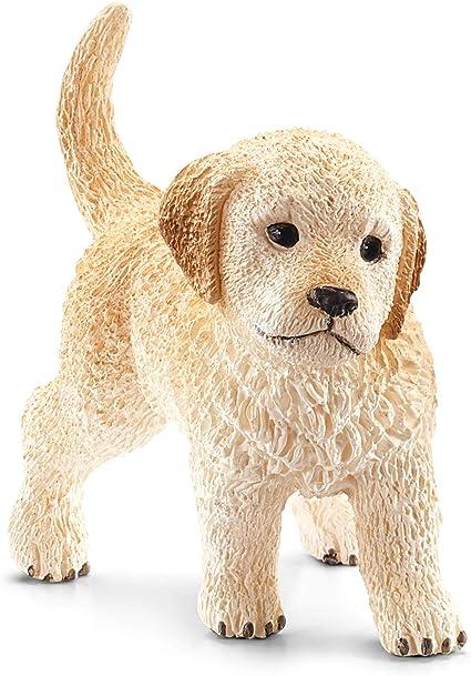 Schleich- Cachorro de Perro Golden Retriever (16396