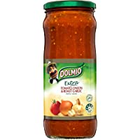 DOLMIO Extra Pasta Sauce Tomato Onion and Roast Garlic 1 x 785 Grams