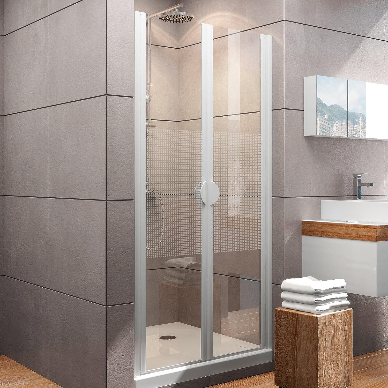 Schulte 4061164998806 Madrid Puerta de ducha en técnicos, Alpin de color blanco, 90 x 180 cm: Amazon.es: Bricolaje y herramientas