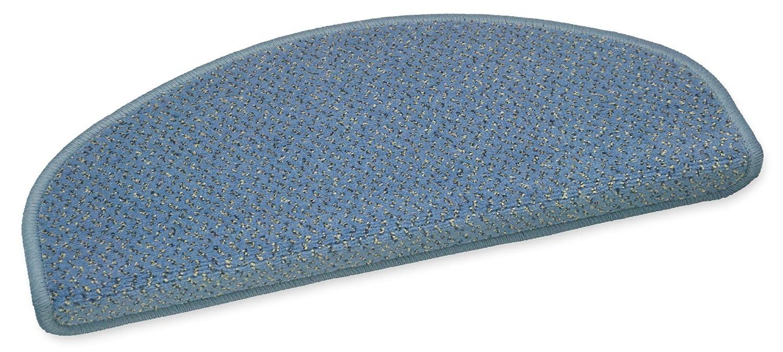 Ypsilon GmbH VORWERK Stufenmatten//Treppenteppiche Bari blau 50x20cm
