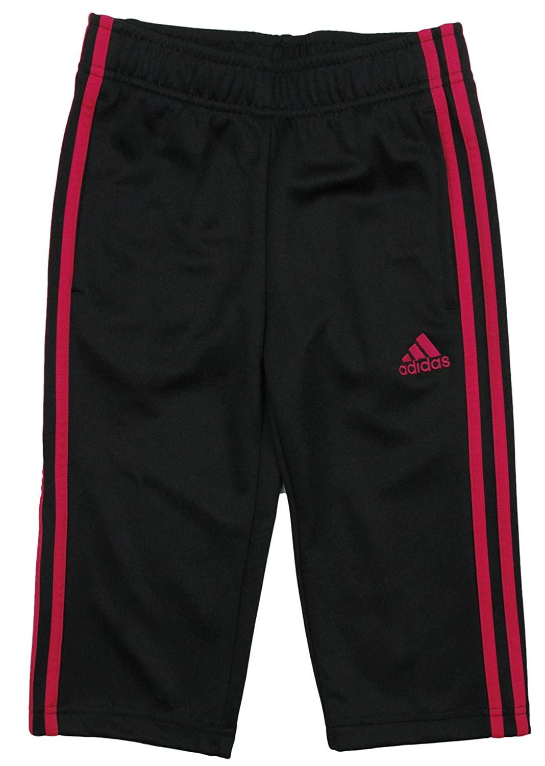 Adidas Big Girls Climalite 3-Stripes Capri Athletic Pants