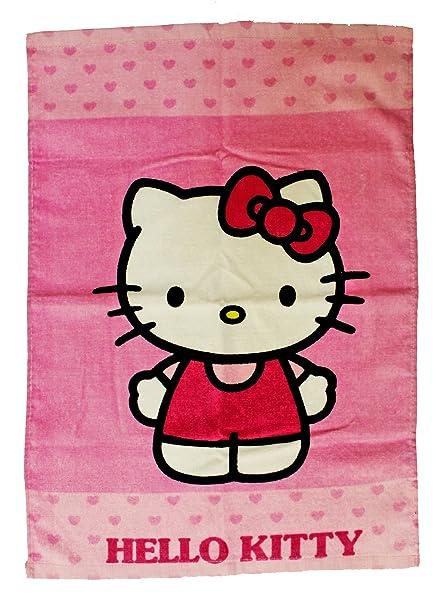 Hello Kitty Toalla 60 x 40 infantil – Toalla de manos (