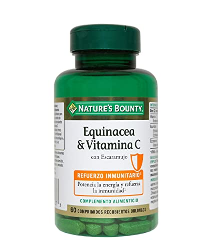 Natures Bounty Equinácea & Vitamina C con Escaramujo - 60 Tabletas