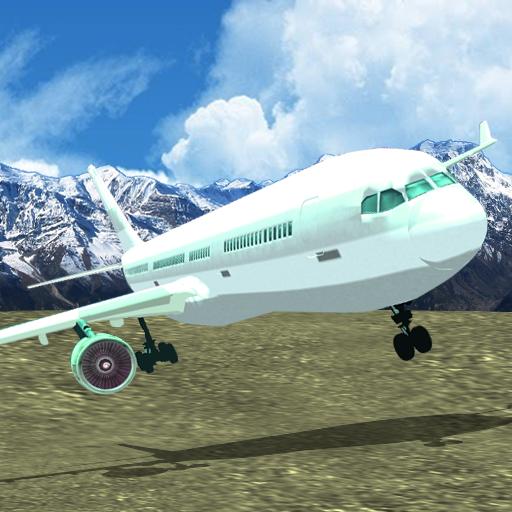 Super Jet Plane Parking (Jumbo Jet Landing)