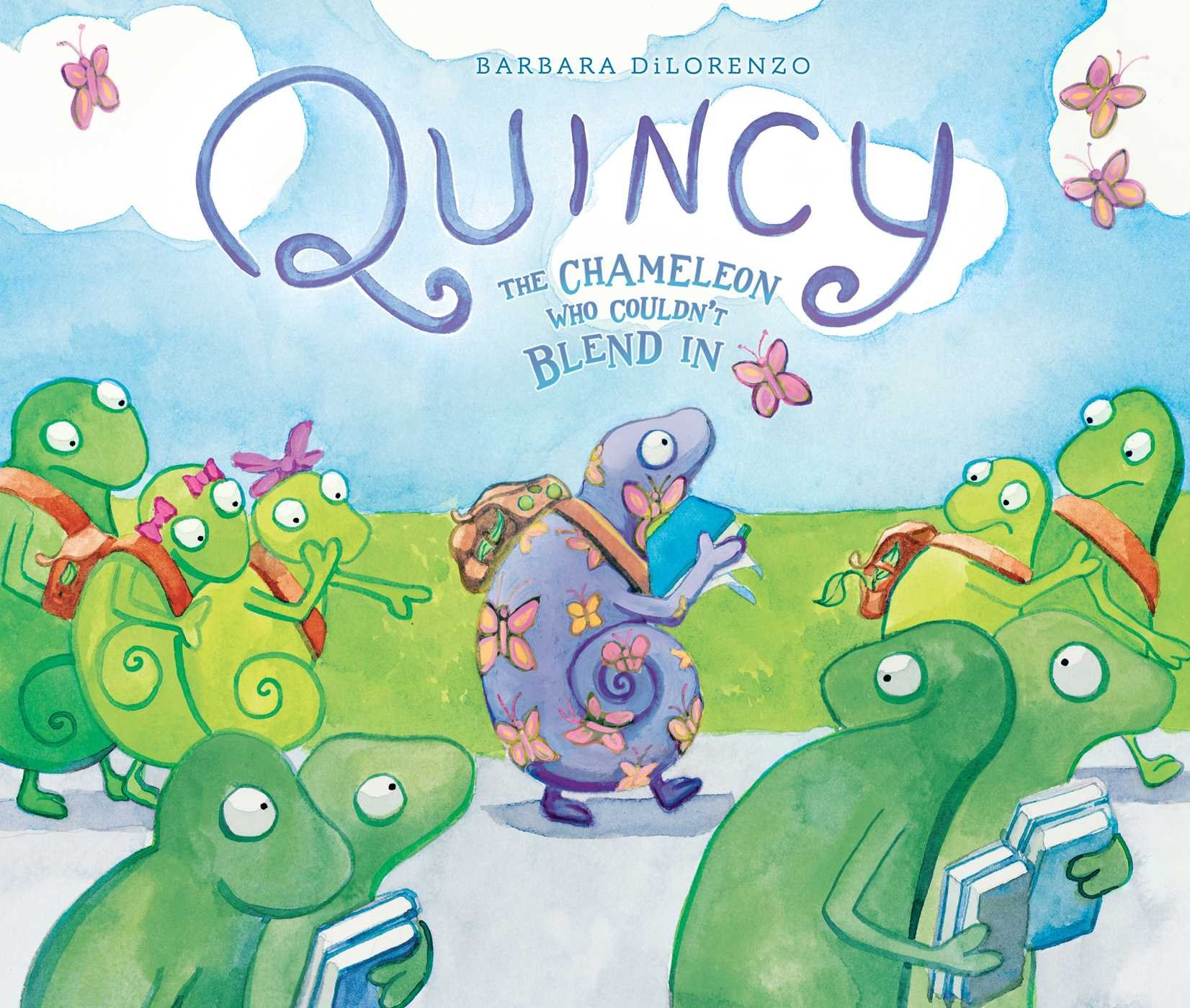 Quincy: The Chameleon Who Couldn't Blend In