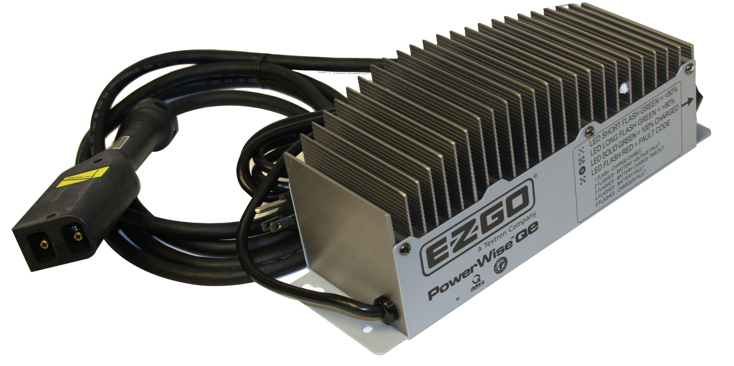 EZGO Powerwise QE Charger with 18-Inch DC Cord, 36-Volt, 16-Amp  - PF10820