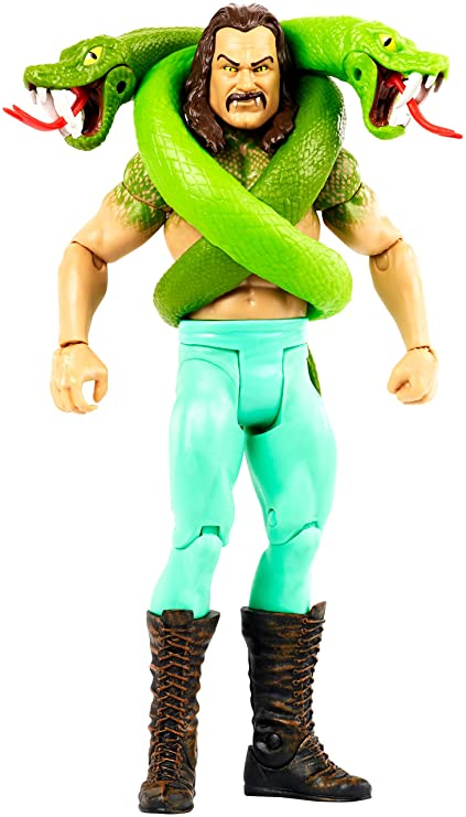 0fc8c786f0da67 Amazon.com: WWE Monsters Jake The Snake Roberts Action Figure: Toys ...