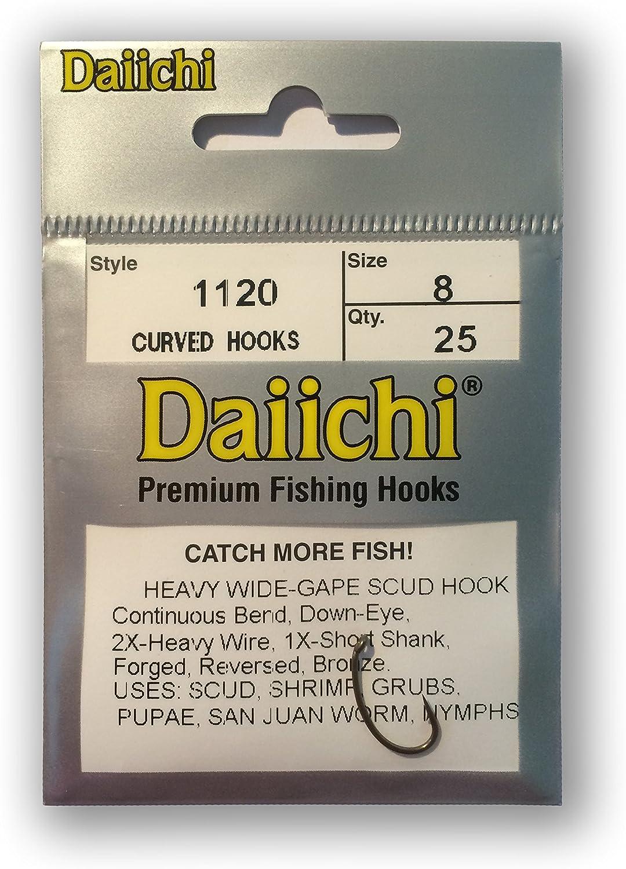 Daiichi série 1500 fly tying hooks