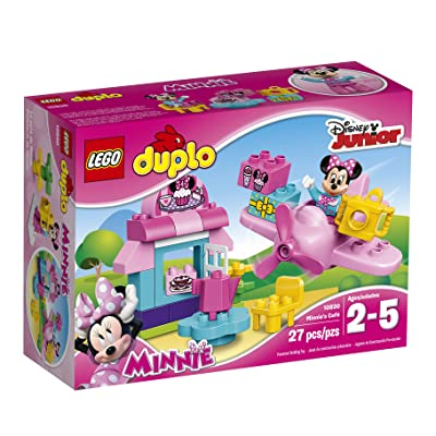 LEGO DUPLO l Disney Mickey Mouse Clubhouse Minnie's CAF' 10830 Large Building Block Preschool Toy: Toys & Games