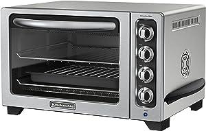"KitchenAid RKCO223CU 12"" Refurbished Convection Countertop Oven, 12"", Contour Silver"