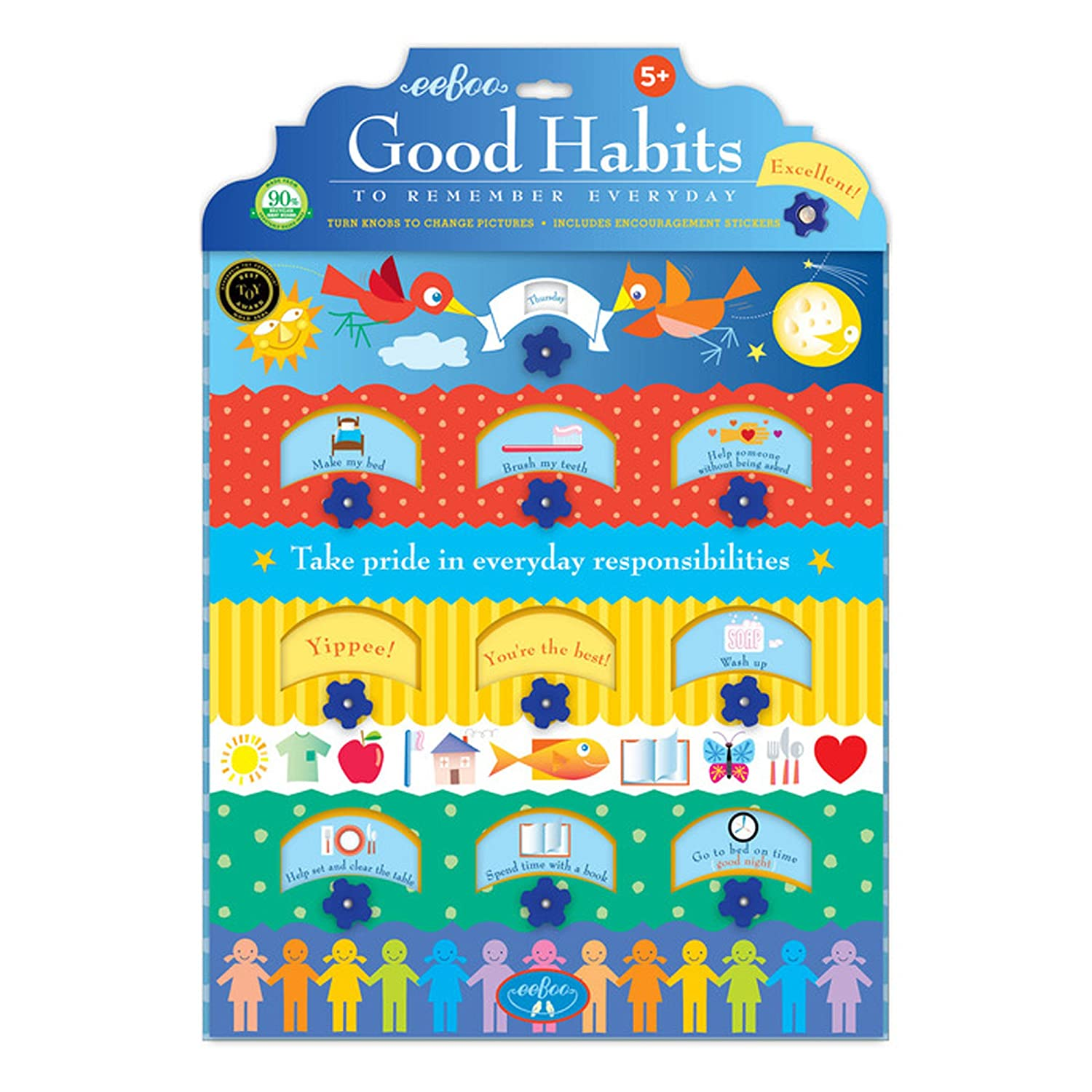 eeBoo Good Habits Interactive Chart