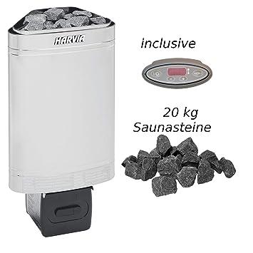 Harvia Delta EE – Horno 2,3 kW elektroofen d23ee Sauna Calefacción Estufa para sauna