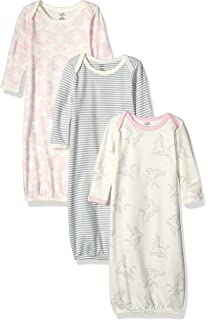Touched by Nature Baby Girls Organic Cotton Gown