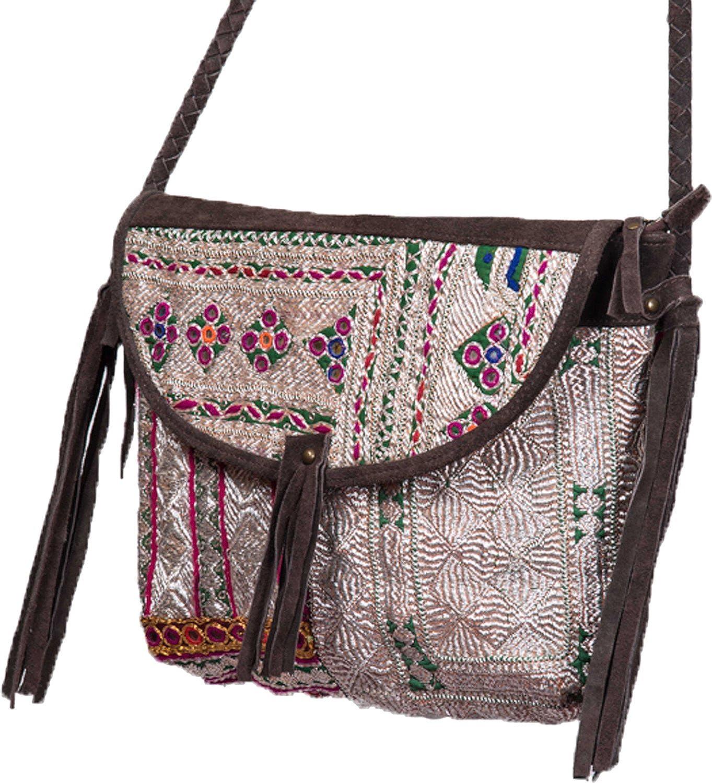 Jaipur Textiles Hub Women's Hand Bag ( White, JTH-130 )