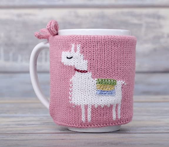 Amazon Llama Gift Coffee Cozy Tea Cosy Mug Sleeve Party Favor