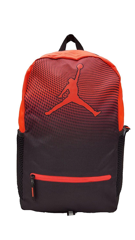 41061bb8d844 Amazon.com  Nike Air Jordan Jumpman Youth 23 Backpack Book Bag + FREE  FIDGET CUBE (Infrared)  Sports   Outdoors