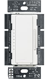 lutron maestro c l dimmer switch for dimmable led, halogen & incandescent  bulbs, single-