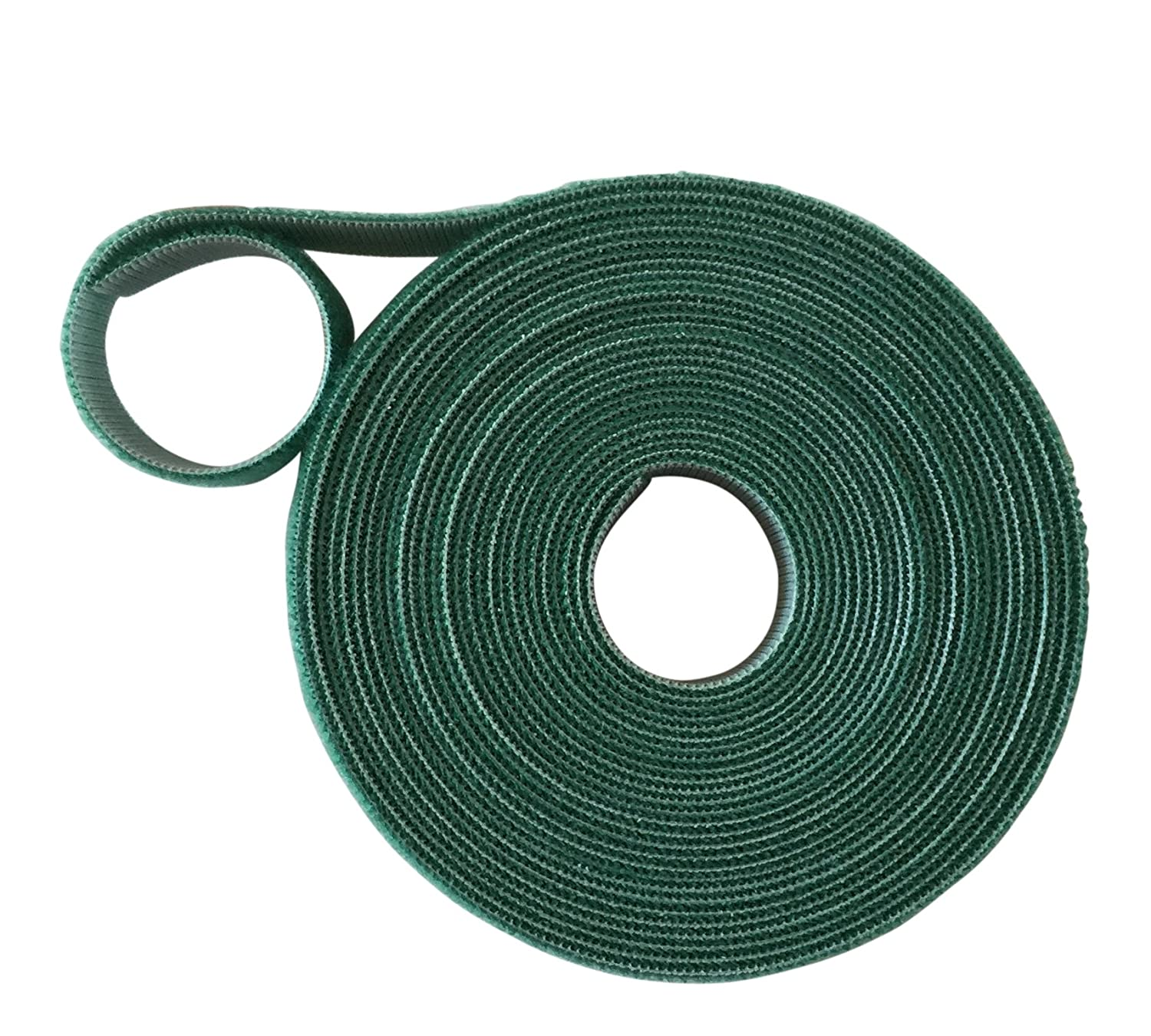 VELCRO® Brand Hook and loop ONE-WRAP® back to back Strapping in GREEN 2CM Wide X 1 Metre Long VELCRO®