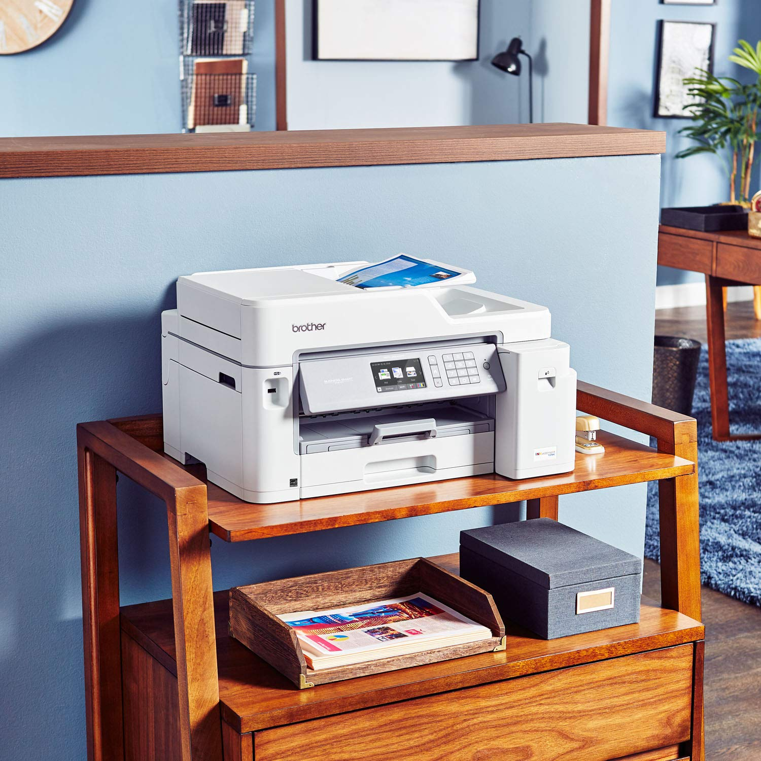 Brother Inkjet Printer, MFC-J5845DW, INKvestment Color Inkjet All-in-One Printer with Wireless, Duplex Printing and Up to 1-Year of Ink in-Box, Amazon Dash Replenishment Enabled by Brother (Image #2)