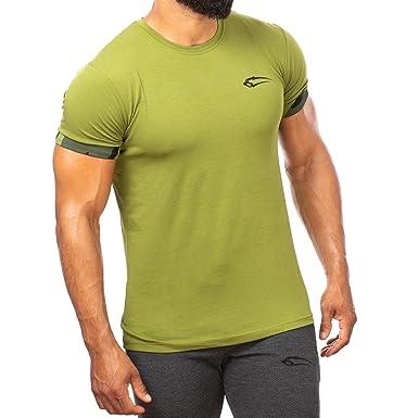 Smilodox Slim Fit T Shirt Herren Now Kurzarm Sport Fitness Gym