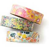 Washi tape set - A tiny flower - value pack - DIY - packaging - decorative tape - weddings - Love My Tapes