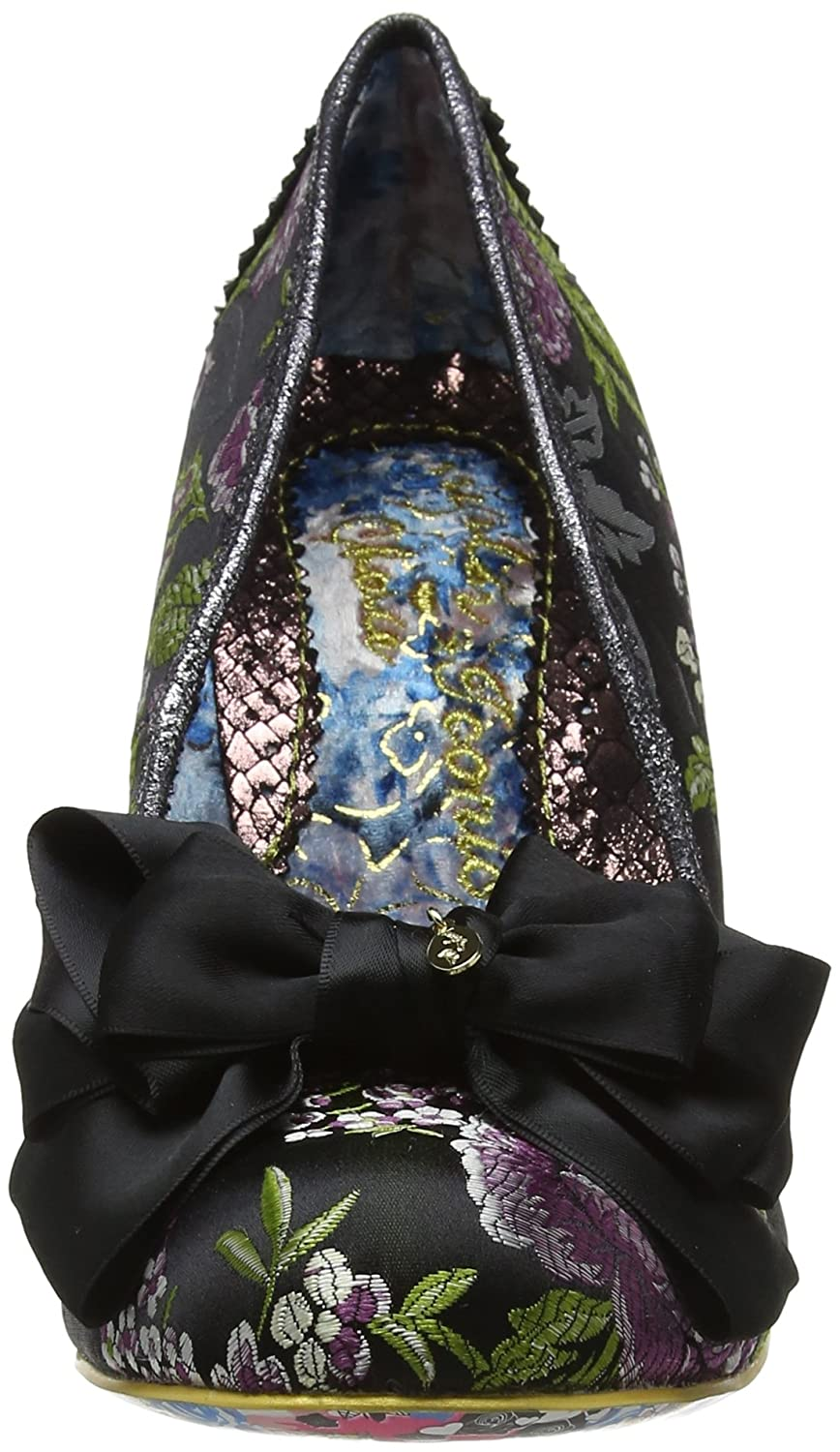 Irregular Choice Womens Ascot M Fabric Shoes B0758HYCDS 41 M Ascot EU|Black 8e3483