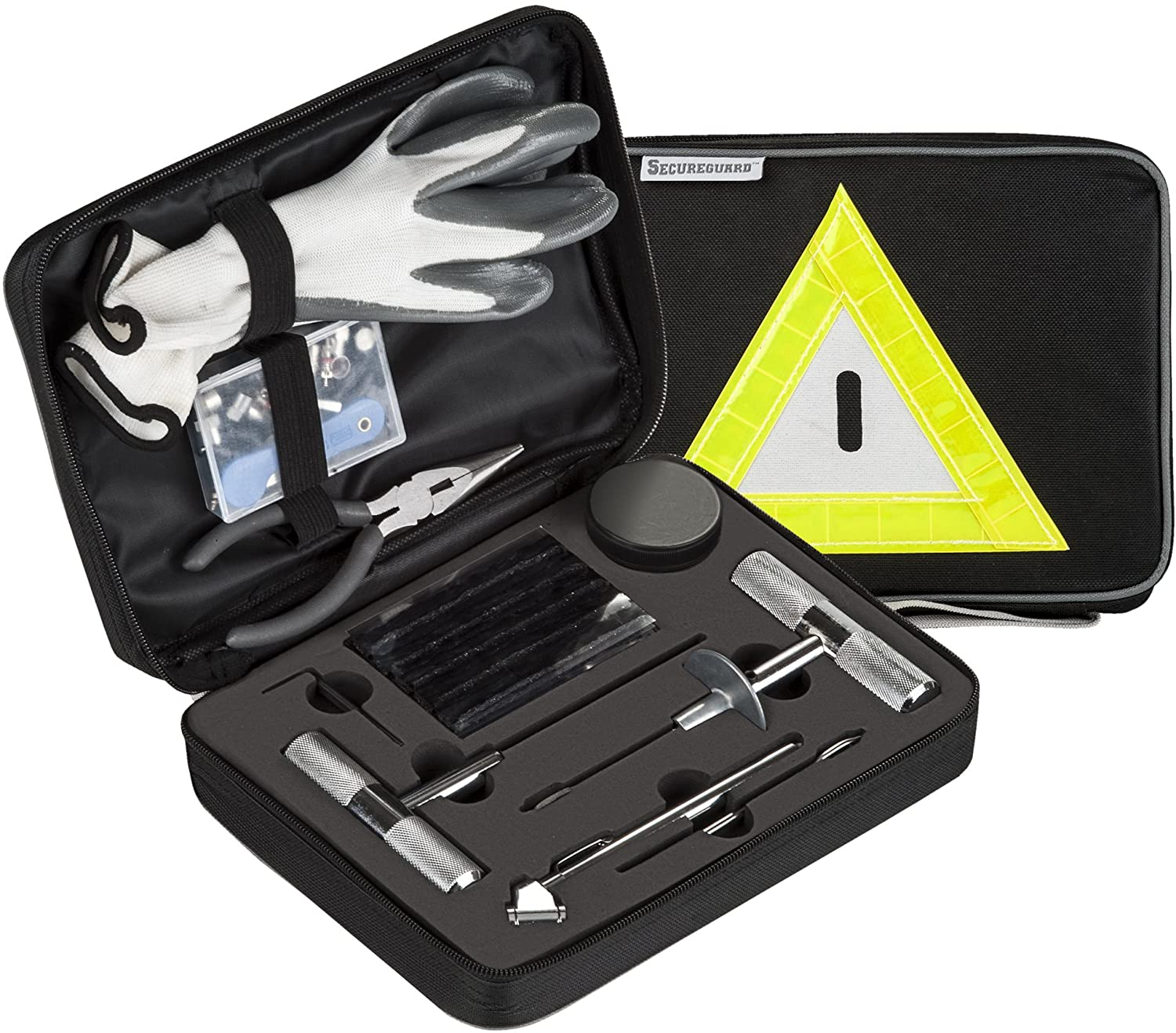 Secureguard – 66 Pieces Heavy Duty Tire Repair Kit
