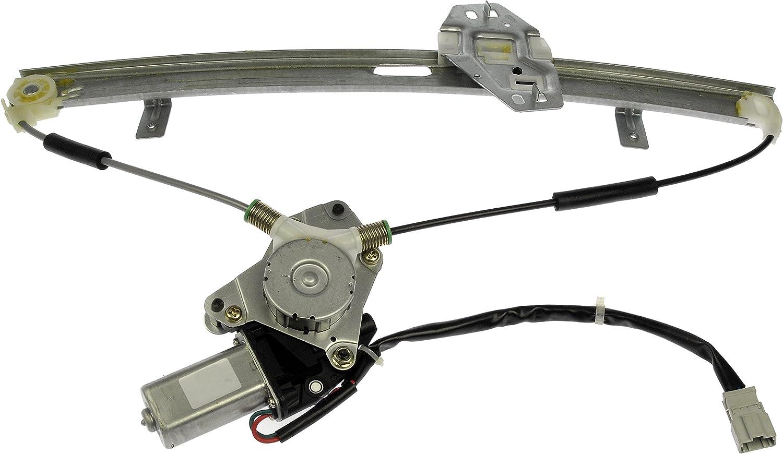 Dorman 741-766 Front Driver Side Power Window Regulator and Motor Assembly for Select Honda Models
