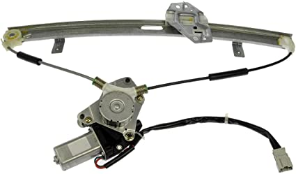 dorman 741-766 honda accord front driver side window regulator with motor