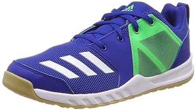 1a1cd40ecce463 adidas Unisex-Kinder Fortagym K Fitnessschuhe Blau (Reauni Ftwbla Limsho  000)