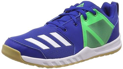 check out 0ac94 7fbf9 adidas Fortagym K Chaussures de Fitness Mixte Enfant, Bleu  (ReauniFtwblaLimsho